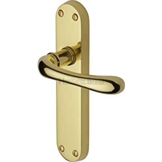 maneta puerta dorada